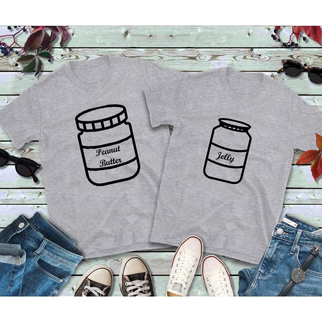 Couples Shirts, Peanut Butter and Jelly Shirts