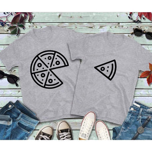 Couples Shirts, Pizza and Slice Shirts