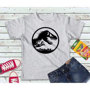 Dinosaur Shirt, Boys or Girls Shirt, Kids Shirt