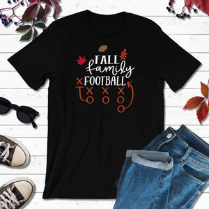 Fall and Football, Fall Shirt, Autumn T-Shirt