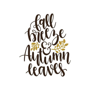 Fall Breeze and Autumn Leaves Fall Shirt Autumn T-Shirt