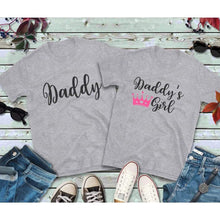 Load image into Gallery viewer, Father Daughter Matching Shirts, Daddy and Daddy's Girl