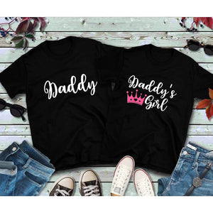 Father Daughter Matching Shirts Daddy and Daddy's Girl