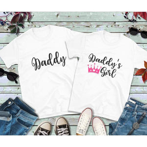 Father Daughter Matching Shirts, Daddy and Daddy's Girl