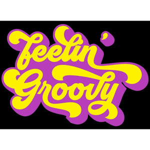 Feelin' Groovy, Vintage T-Shirt, Vintage Clothing