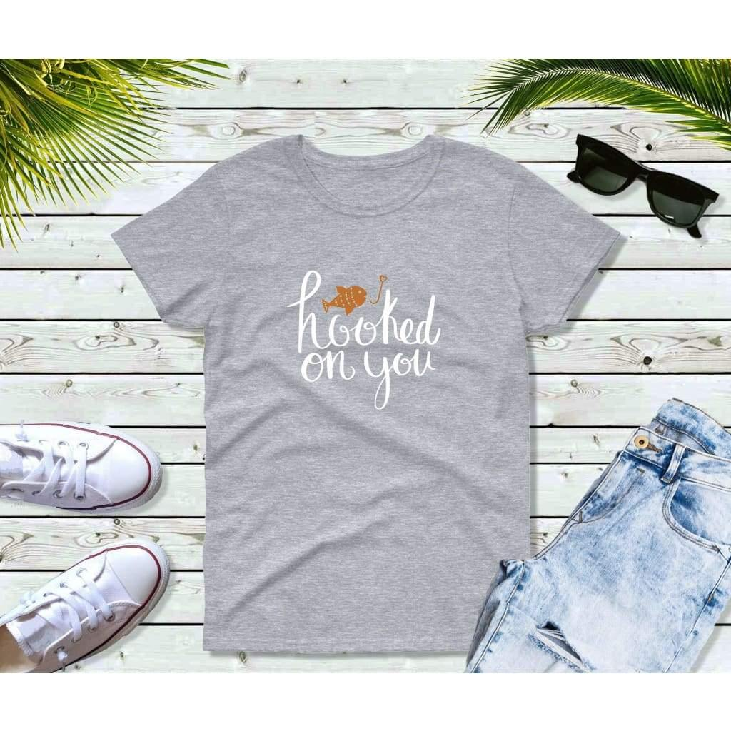Fishing Shirt Women, Fishing Gifts, Hooked on You