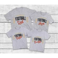 Load image into Gallery viewer, Football Shirts for Family, Family Matching Shirts
