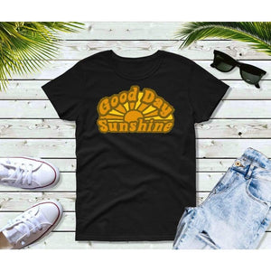 Good Day Sunshine 70's T-Shirt Vintage Retro Style