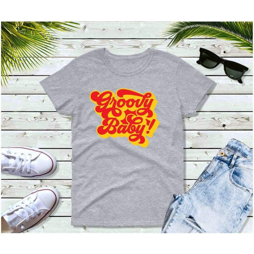 Groovy Baby 70's T-Shirt Vintage Retro Style