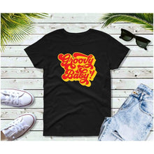 Load image into Gallery viewer, Groovy Baby 70's T-Shirt Vintage Retro Style