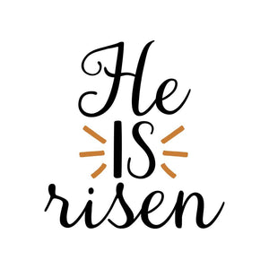 He Is Risen Shirt Christian T-Shirts Easter Gifts