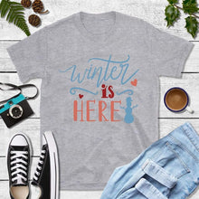 Load image into Gallery viewer, Holiday Shirt Winter is Here Shirt
