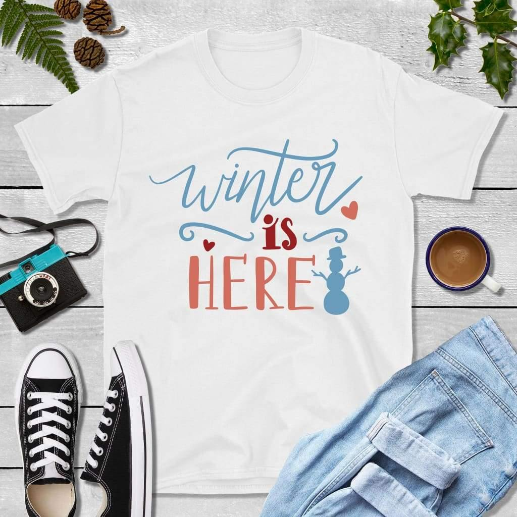 Holiday Shirt Winter is Here Shirt