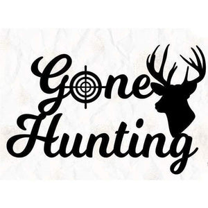 Hunter Shirt Hunting Gift Gone Hunting