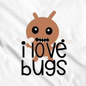 I Love Bugs Boys or Girls Shirt Kids Shirt