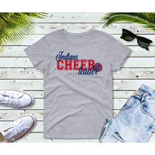 Load image into Gallery viewer, Indians Cheerleader Shirt Indians T-Shirt Cleveland Baseball