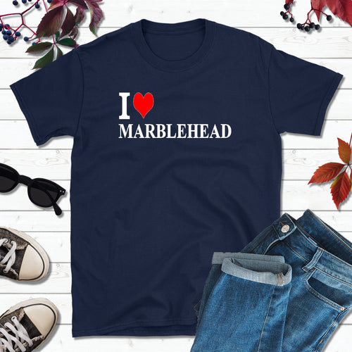 I Love Marblehead Shirt, Lake Erie T-Shirt, Marblehead Ohio Shirt