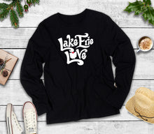 Load image into Gallery viewer, Long Sleeve Lake Erie Love Shirt, Long Sleeve Lake Erie Shirt, Long Sleeve Lake Shirt