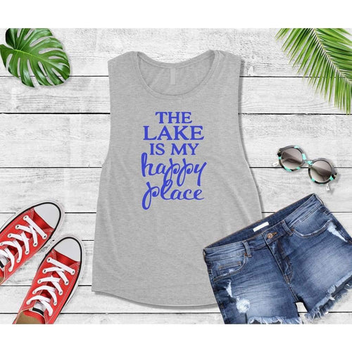 Lake Life The Lake is My Happy Place Shirt