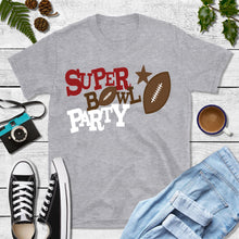 Load image into Gallery viewer, Football Party Shirt, Super Bowl Party T-Shirt