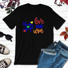 Load image into Gallery viewer, LGBT Shirt Gift LGBT Tee Shirt Love Will Win