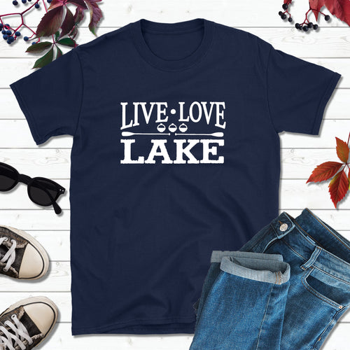 Lake Life T-Shirt, Live Love Lake Shirt, Lake Love Shirt
