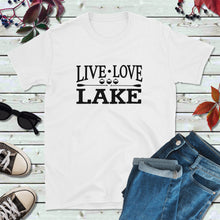 Load image into Gallery viewer, Lake Life T-Shirt, Live Love Lake Shirt, Lake Love Shirt