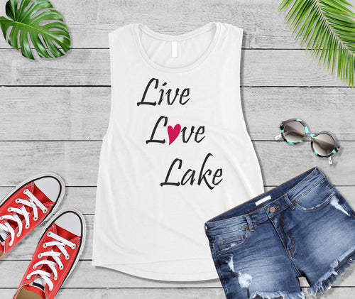Lake Life T-Shirt, Live Love Lake Shirt, Lake Love