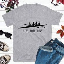 Load image into Gallery viewer, Live Love Row T-Shirt Nautical Shirt Men Crewing Shirt