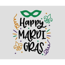 Load image into Gallery viewer, Mardi Gras Shirt Women Party Shirt Happy Mardi Gras