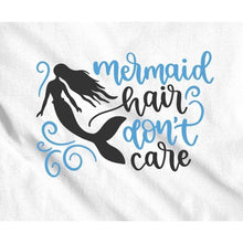 Load image into Gallery viewer, Mermaid Hair Don't Care Girls Shirt Kids Shirt