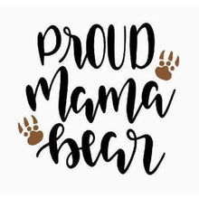 Load image into Gallery viewer, Mom Life Shirt Gift for Mother Proud Mama Bear Shirt