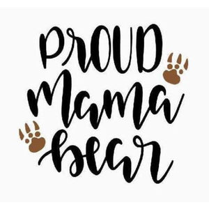 Mom Life Shirt Gift for Mother Proud Mama Bear Shirt