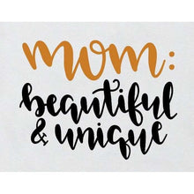 Load image into Gallery viewer, Mom Life Shirt Gifts for Moms Mom Beautiful & Unique