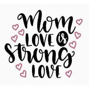 Mom Life Shirt Gifts for Moms Mom Love Strong Love