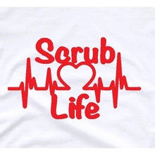 Load image into Gallery viewer, Nurse Gift RN Gift Scrub Life Shirt