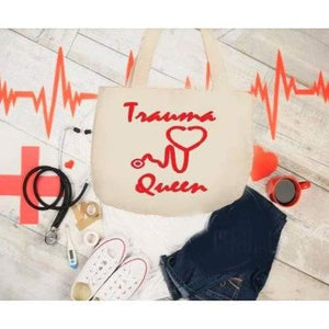 Nurse Gift RN Gift Trauma Queen Shirt