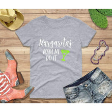 Load image into Gallery viewer, Party Shirt Cinco de Mayo Shirt Women Margaritas Made Me Do