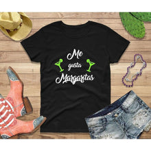 Load image into Gallery viewer, Party Shirt Cinco de Mayo Shirt Women Me Gusta Margaritas