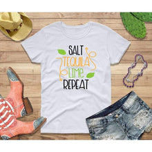 Load image into Gallery viewer, Party Shirt Cinco de Mayo Shirt Women Salt Tequila Lime