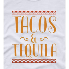 Load image into Gallery viewer, Party Shirt Cinco de Mayo Shirt Women Tacos and Tequila