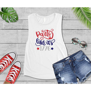 Patriotic Shirt 4th of July Party Like it's 1776 Shirt