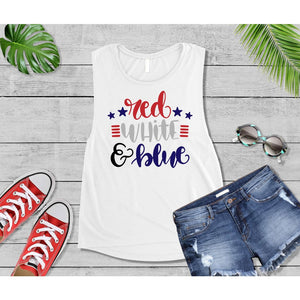 Patriotic Shirt 4th of July Red White & Blue Shirt