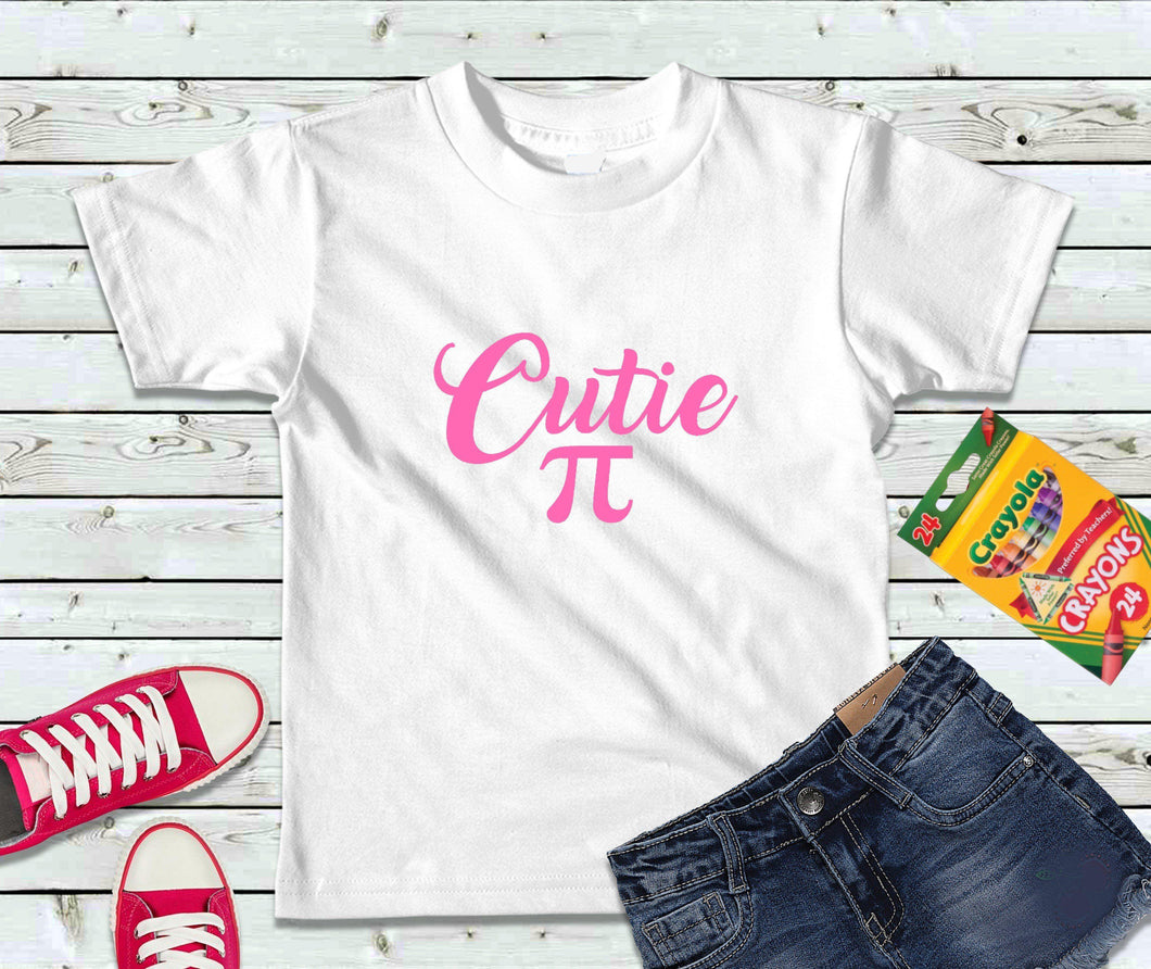 Cutie Pi T-Shirt, Pirate Shirt, Kids Shirt