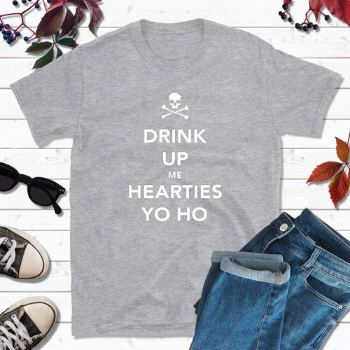 Pirate Shirts Pirate Outfit Drink Up Me Hearties Yo Ho