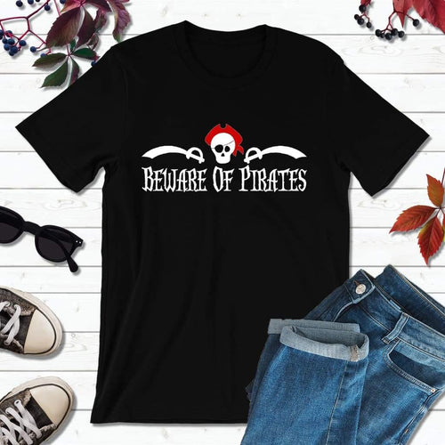 Pirate Shirts Pirate Party Beware of Pirates