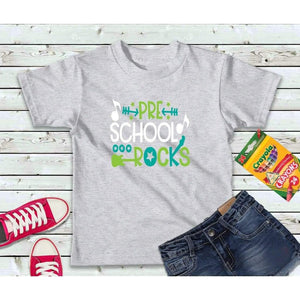 Pre-School Rocks Girls or Boys Shirt Kids Shirt
