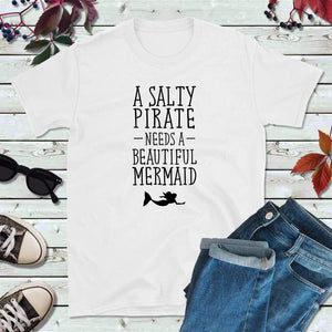 Salty Pirate Needs a Beautiful Mermaid Pirate Party Pirate