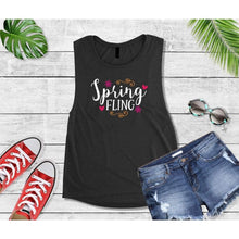 Load image into Gallery viewer, Spring Shirt Vacation T-Shirt Spring Fling Tank