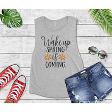 Load image into Gallery viewer, Spring Shirt Vacation T-Shirt Wake Up Spring is Coming